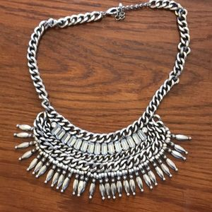 Silver chunky Urban Outfiters Necklace